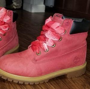 Timberland boots boys 6 womens 7.5 Nubuck